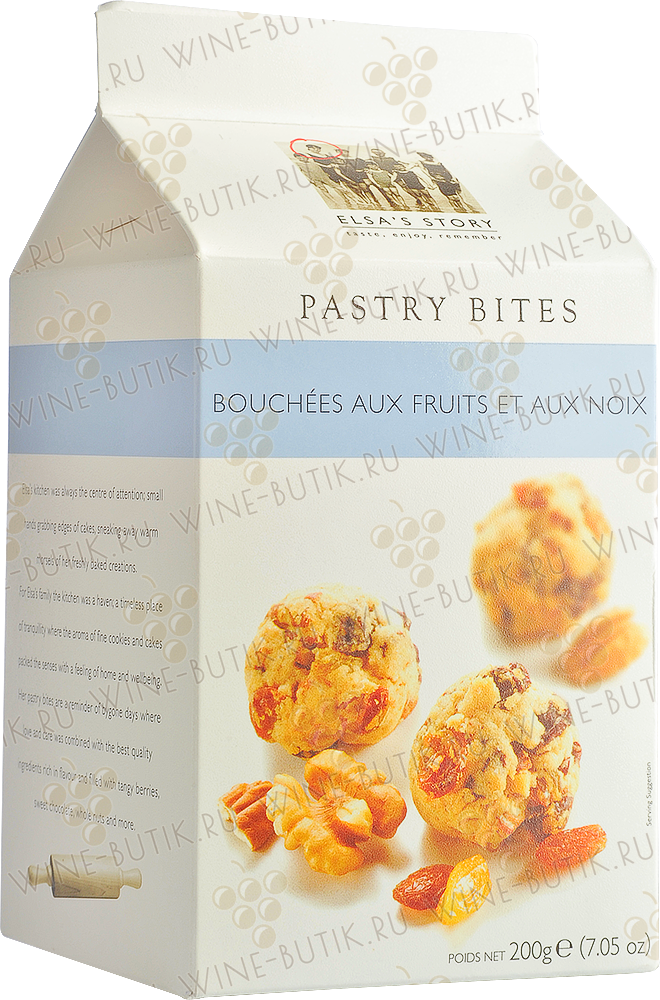 Деликатесы  Elsa's Story  Dried Fruit and Nut Pastry Bites