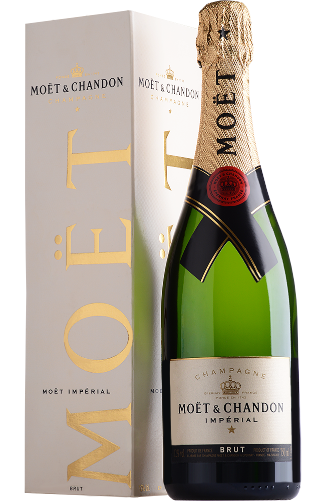 Вино  Moet & Chandon   Moet & Chandon Brut Imperial with gift box