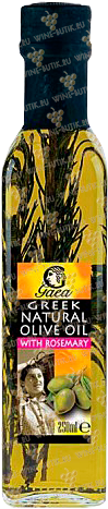 Деликатесы  Gaea  Gaea Extra Virgin Olive Oil with Rosemary