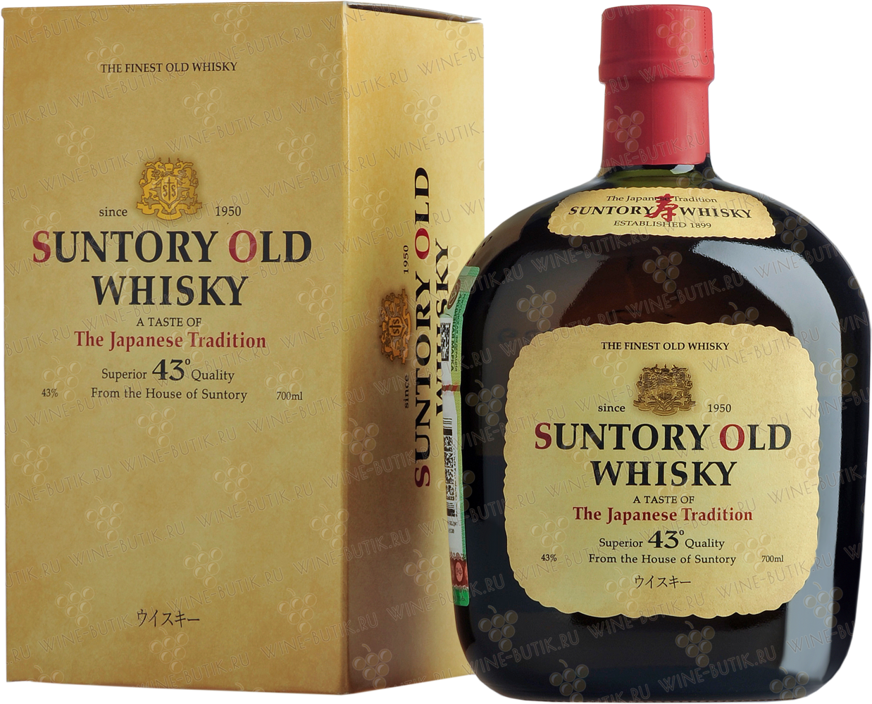 Крепкие  Suntory  Suntory Old in gift box