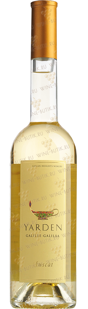 Вино  Golan Heights Winery  Yarden Muscat 2013 0,5L