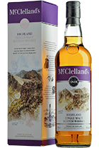 McClelland's Highland Single malt gift box