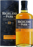 Крепкие напитки Highland Park 12 years  in gift box
