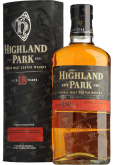 Крепкие напитки Highland Park 18 years in gift box