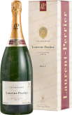 Вино Laurent-Perrier Brut 1.5L gift box