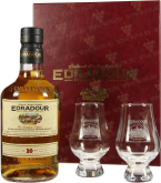 Крепкие напитки Edradour 10 years gift box+2 glasses