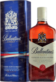 Крепкие напитки Ballantines Finest in gift box