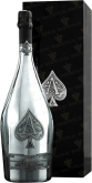 Вино Armand de Brignac Brut Blanc de Blancs in wood box