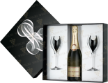 Вино Brut Premier gift box with 2 glass