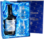 Крепкие напитки Edradour Caledonia 12 years gift box with 2 glasses