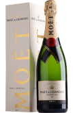 Вино Moet & Chandon Brut Imperial with gift box