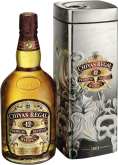 Крепкие напитки Chivas Regal 12 years metal gift box