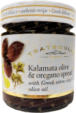 Деликатесы Kalamata olive and oregano spread with Greek extra virgin olive oil