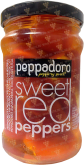 Деликатесы Peppadoro sweet red peppers stuffed cream cheese in sunfloil 250 gr