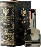 Крепкие напитки Legend of Kremlin gift foliant box 0.05L