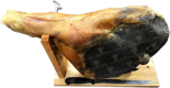 "Деликатесы ""Prosciutto Crudo"" with supplies (Jamonera Banqueta and Cuchillo)"