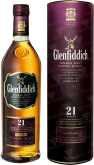 Крепкие напитки Glenfiddich  21 years in gift box
