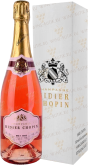Вино Didier Chopin Brut Rose gift box