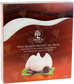 Деликатесы Figs in white chocolate with truffle cream INDEAL in box 12 pcs