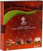Деликатесы Assorted chocolates in chocolate INDEAL narrow DELUXE box 12 pcs