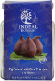 Деликатесы Figs in chocolate INDEAL glass packing 5pcs