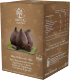 Деликатесы Figs in chocolate with truffle cream INDEAL in box 5pcs