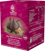 Деликатесы Figs in chocolate with hazelnut cream INDEAL in box 5pcs
