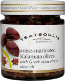 Деликатесы Olives with anise in olive oil extra virgin