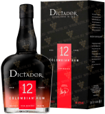 Крепкие напитки Dictador 12 Years in gift box