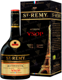 Крепкие напитки Saint-Remy Authentic VSOP gift box