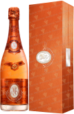 Вино Cristal Rose Louis Roederer gift box 2007
