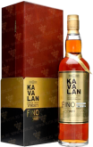 Крепкие напитки Kavalan Solist Fino Sherry Cask Single Cask Strength 57,8% gift box