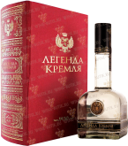 Крепкие напитки Legend of Kremlin gift foliant box black