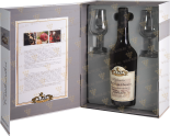 Крепкие напитки Coeur de Lion Calvados Selection Christian Drouin in gift box with two glass