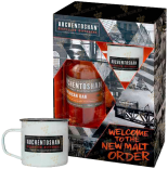 Крепкие напитки Auchentoshan American Oak gift box with 2 cups