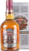Крепкие напитки Chivas Regal 12 years 1L gift box
