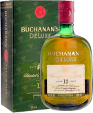 Крепкие напитки Buchanan s De Luxe 12 Years Old gift box