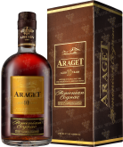 Крепкие напитки Araget 10 years old 0,5L in gift box