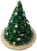 "Деликатесы Chocolate figure ""Christmas tree 3D"""