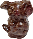 "Деликатесы Chocolate figure ""Piggy 3D"""