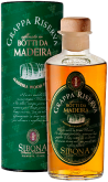 Крепкие напитки Sibona Grappa Riserva Madeira Wood Finish gift tube 0.5L