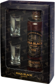 Другие напитки Riga Black Balsam gift box with 2 shots 0,5L