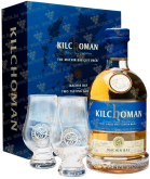 Крепкие напитки Kilchoman Machir Bay gift box with 2 glasses