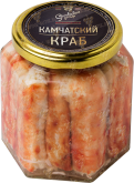 Деликатесы Canned Crab Premium glass jar 400 gr