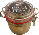 Деликатесы Scallop glass jar 225 gr