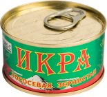 Деликатесы Salmon Caviar (chum salmon) tin can 140 gr