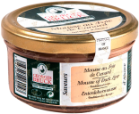 Деликатесы GB Mousse au Foie de canard glass jar 140 gr