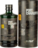 Крепкие напитки Bruichkladdich Port Charlotte 10 Years gift tube