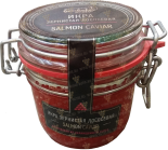 Деликатесы Salmon Caviar (chum salmon) glass jar 230 gr