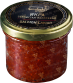 Деликатесы Salmon Caviar (pink chum salmon) glass jar 100 gr